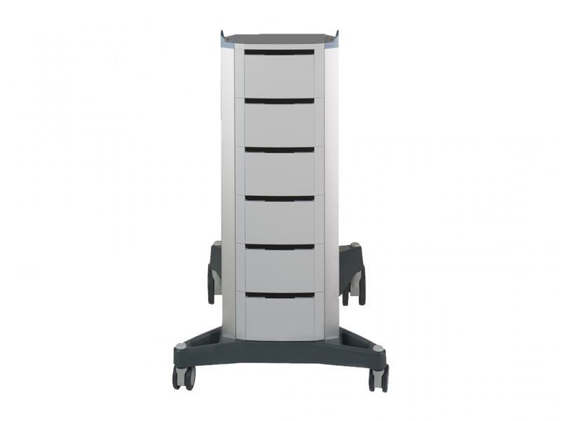 Gerätewagen mit Fächern für BTL 5000/4000