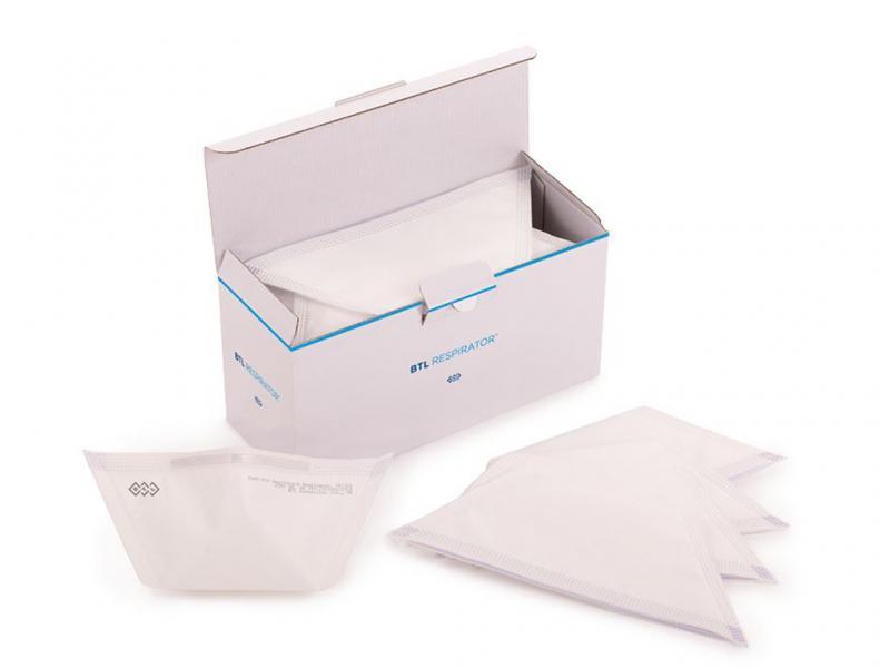 FFP2 medizinische Atemschutzmaske - Pack = 25 Stück